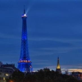 Das Wahrzeichen von Paris - Der Eifelturm