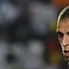 Slimani scored Algeria's third after 82 minutes