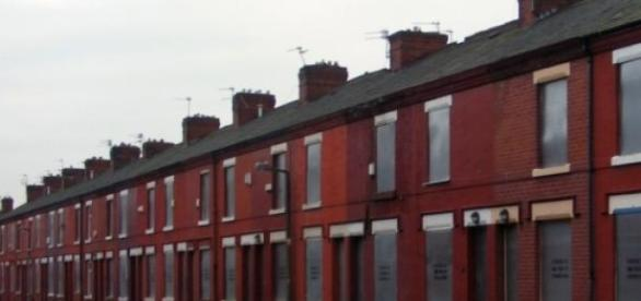 A street in Salford - the voters have long gone