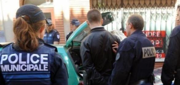 La police nationale à l'oeuvre