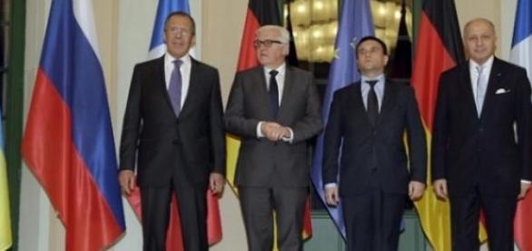 Le quartet de Normandie réuni