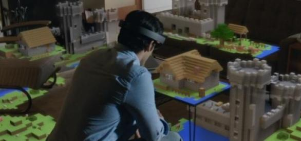 The HoloLens brings holograms to consumers