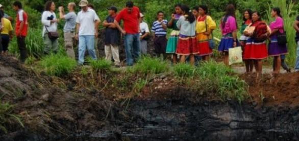 Les victimes de Chevron au nord de l'Équateur.