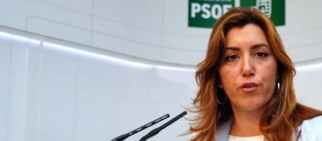 Susana Díaz, la presidenta en un mitin