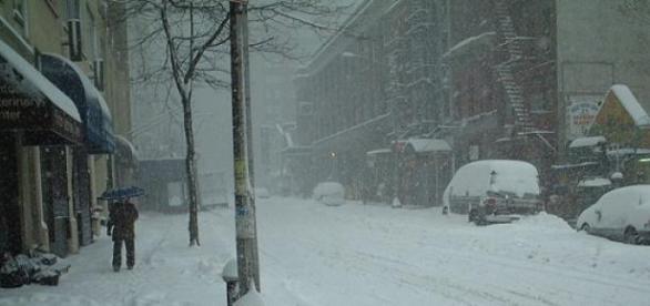 Tormenta de nieve afectará a New York
