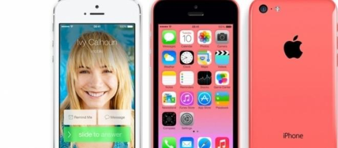 iPhone 5c e iPhone 5s