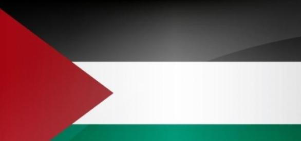 Flag Of The Palestinian Peopke