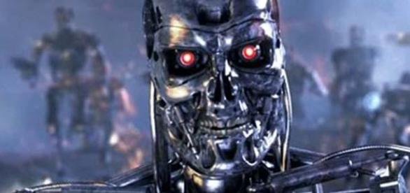Terminator controlled by Skynet