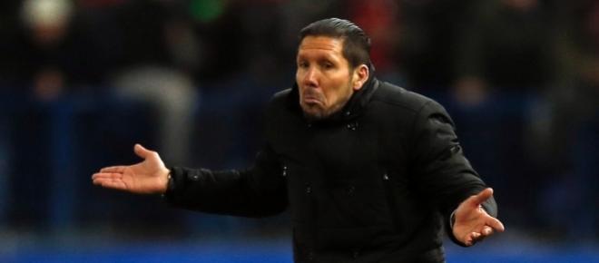Diego Simeone - Treinador do Atlético de Madrid
