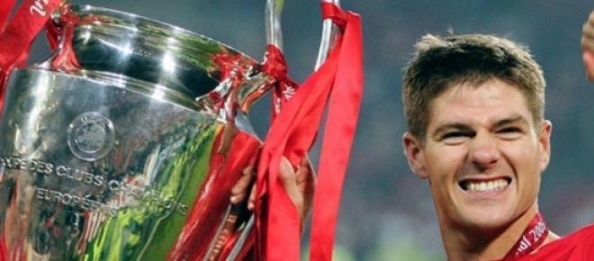 El capitán del Liverpool, Steven Gerrard
