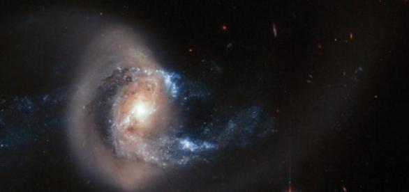 Es un violento fenómeno astronómico
