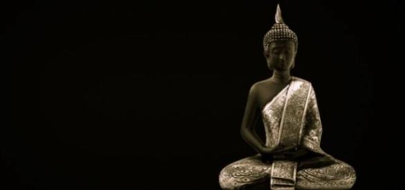 The Buddha doing a bit of Mindfulness