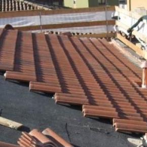 Riparazione tetto condominio