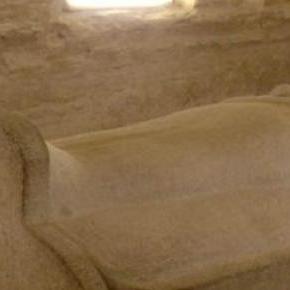 Una antigua tumba egipcia