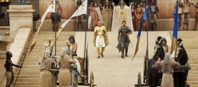 A côté de Ramsès, Moïse a tout d'un guerrier perse