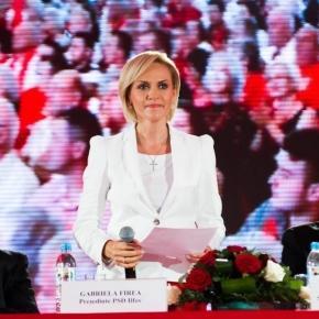Gabriela Vrânceanu Firea, președinte PSD Ilfov