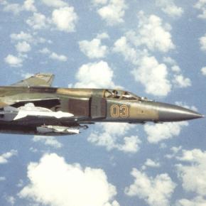 Rosyjski samolot Mig-23 (źródło: Wikipedia)