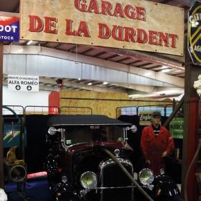 stand du garage de la Durdent à Auto moto Retro