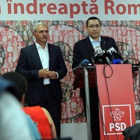 Victor Ponta și Liviu Dragnea!