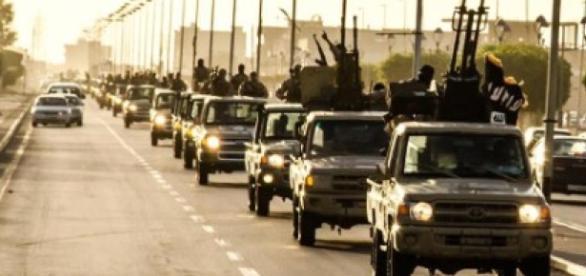 Terroryści z Państwa Islamskiego