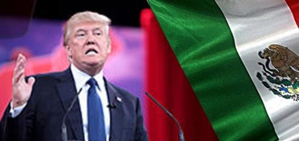 Donald Trump y su campaña anti-azteca