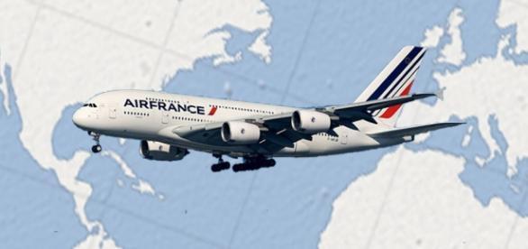 Llaga a México el Airbus 380, el avión más grande