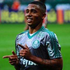 Gabriel Jesus já leva seis golos no Palmeiras