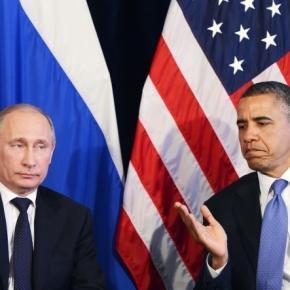 Vladimir Putin şi Barack Obama la ONU
