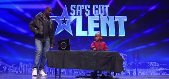 DJ Arch Jr w talent-show (fot. youtube)
