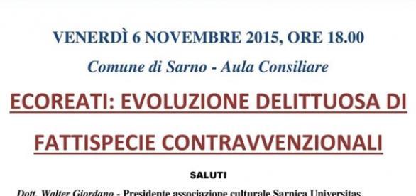 importante iniziativa nel comune di Sarno