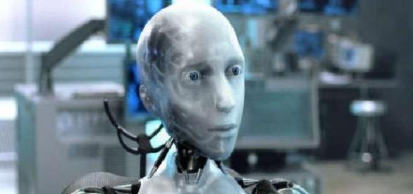 "Kadr z filmu ""Ja, Robot"" (2004)"