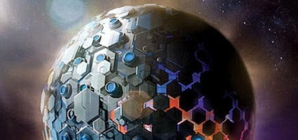 Structura extraterestra nemaivazuta in spatiu