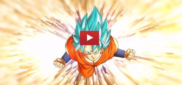Dibujo De Goku Super Sayayin Dios Fase 5 Pintado Por En: 'Dragon Ball Z Extreme Butoden': Trailer Oficial En Español