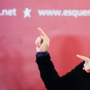 Catarina Martins, líder do BE.
