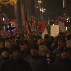 Pegida-Demo am 19. Oktober in Dresden