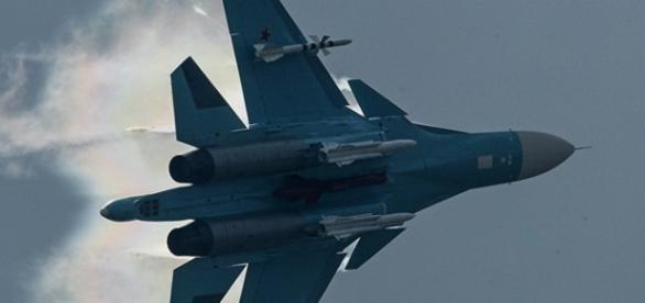Avioane de lupta ale Rusiei, in Siria