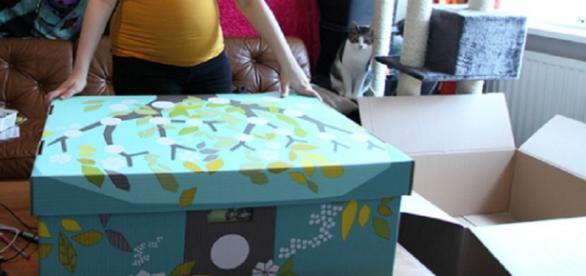 Cutia primită de la statul finlandez