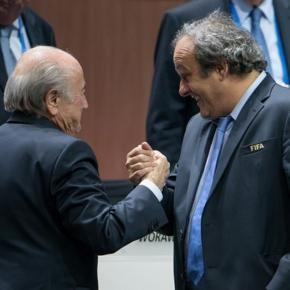 Sepp Blatter i Michel Platini - zimbio.com