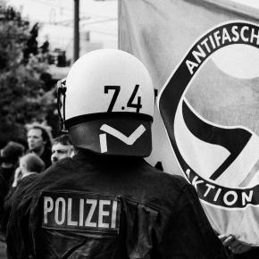 ANTIFA-Demo, Foto: Gregor Fischer (Flickr)
