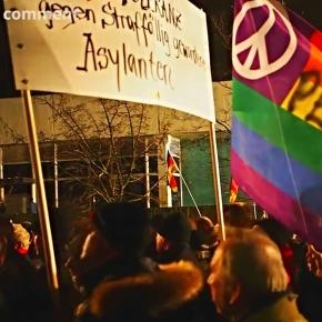Protest al oranizaţiei PEGIDA cotra refugiaţilor