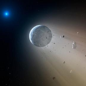 Distrugerea unei planete observata de catre NASA