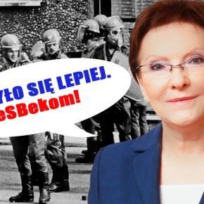 Ewa Kopacz zwiększa emerytury SBekom.