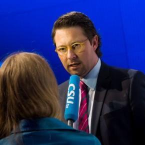 Generalsekretär Andreas Scheuer, Foto: CSU
