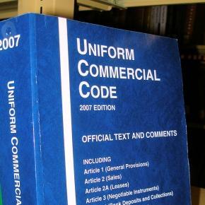 Uniform Commercial Code - weltweites Handelsrecht