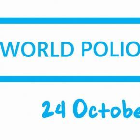 """World Polio Day"" - 24. Oktober"