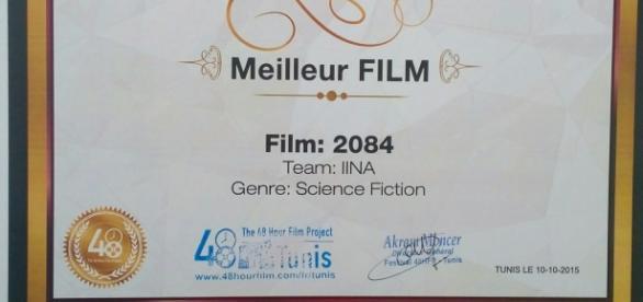 Prix du meilleur film- 48 Hour Film Project