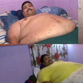 Andres Moreno în aşteptarea operaţiei de bypass