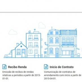 Recibo de renda electrónico - Portal das Finanças.
