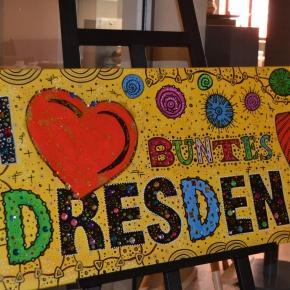 """Ausstellung """"Buntes Dresden"""" von Olivia Janosch"""