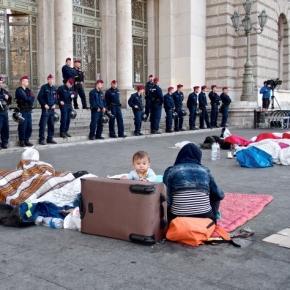 Flüchtlinge in Ungarn, September 2015
